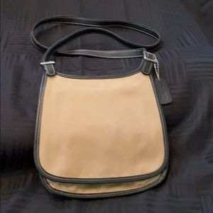 Coach Canvas and Leather Crossbody